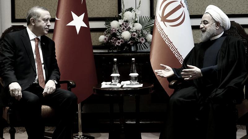Erdoğan ve Ruhani Kazakistan'da bir araya geldi