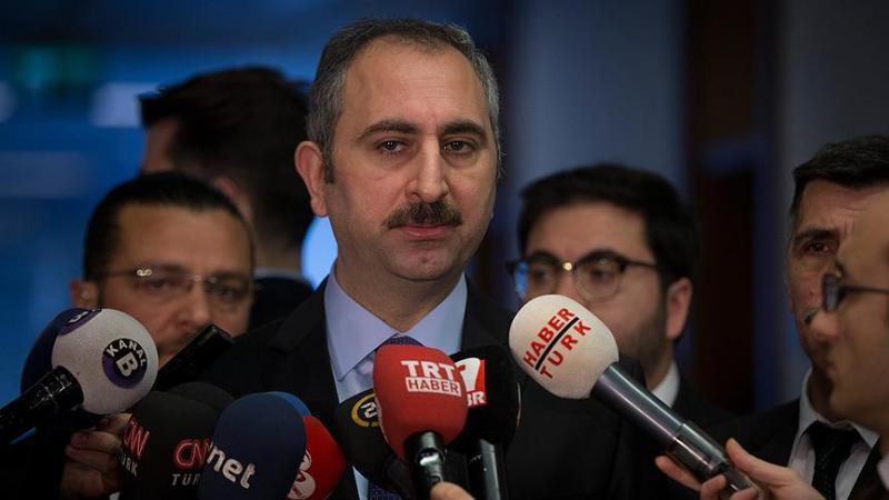 Adalet Bakanı Gül: Kimyasal hadım dahil tüm tedbirler masada