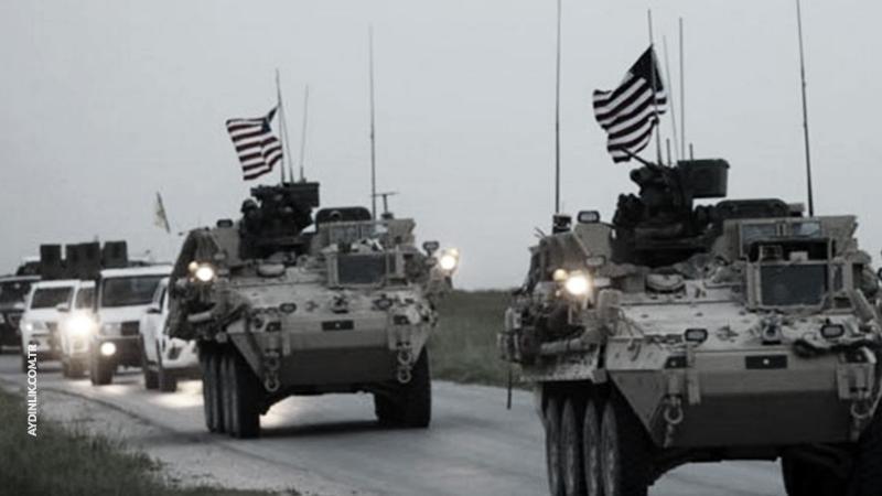 ABD ordusundan PKK/PYD bölgesine askeri sevkiyat