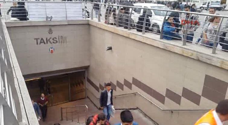 Korkunç olayın ardından metro seferleri durdu
