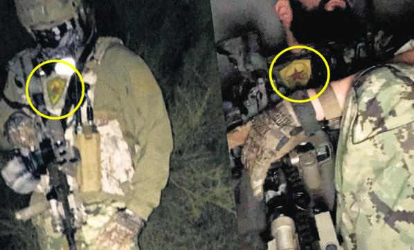 PKK'ya kol kanat geren ABD'li komandolar deşifre oldu