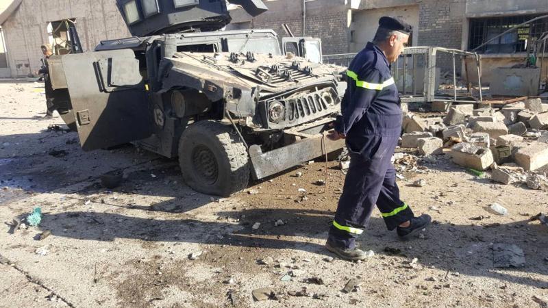 Kerkük'te seçim sandıklarının bulunduğu depoya bombalı saldırı