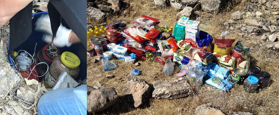 PKK'ya ait 12 lojistik sığınağı bulundu!