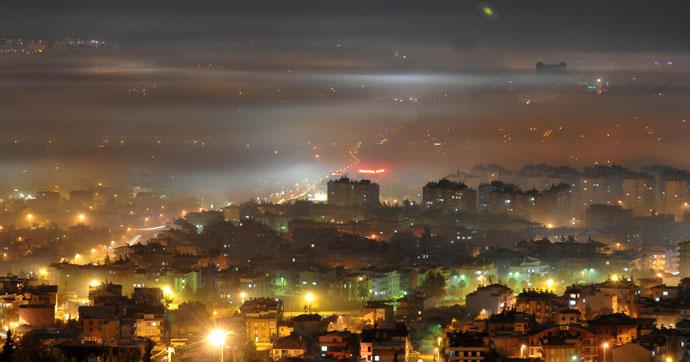 Bu ilimizde hava kirliliği ülke sınırının üstünde!