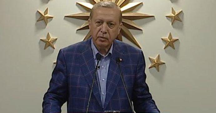 Cumhurbaşkanı Erdoğan referandum ardından açıklama yaptı