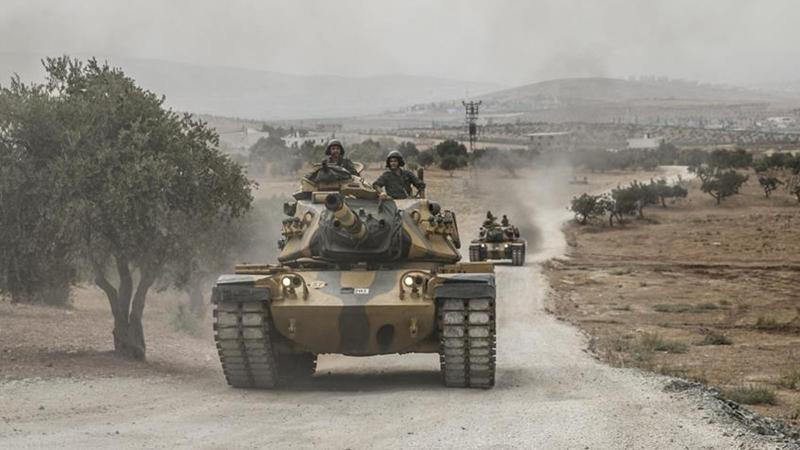 Tank geçişleri için duvar açıldı, ABD askerlerinin yerleri belirlendi