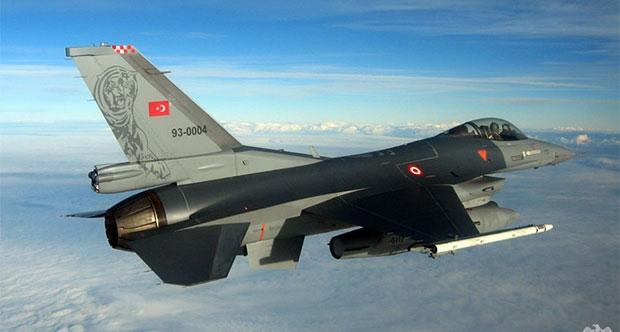 Türk savaş uçakları Afrin'deki terör hedeflerini vurdu
