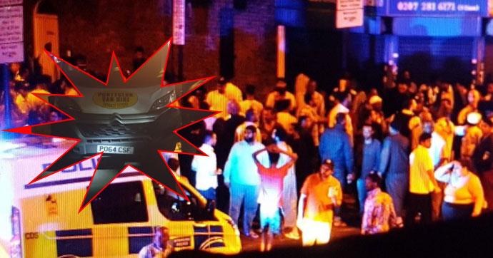 Londra'da kamyonet yayaların arasına daldı!.. Ölü ve yaralılar var!