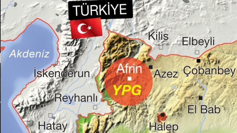 TSK, Afrin kuşatması için hazır