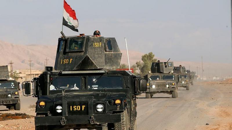 Irak ordusu sınıra ilerliyor