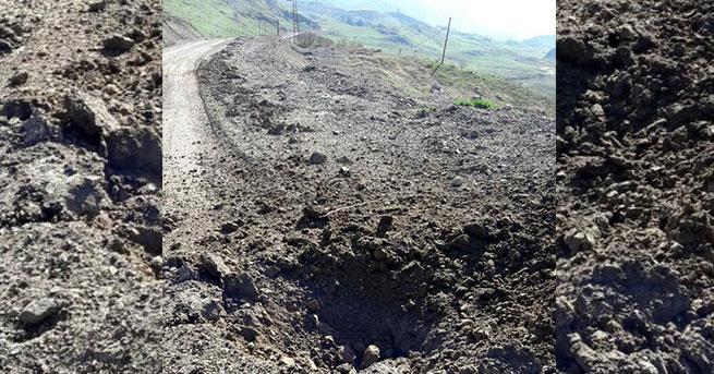 Yola patlayıcı döşeyen PKK'lılar öldürüldü