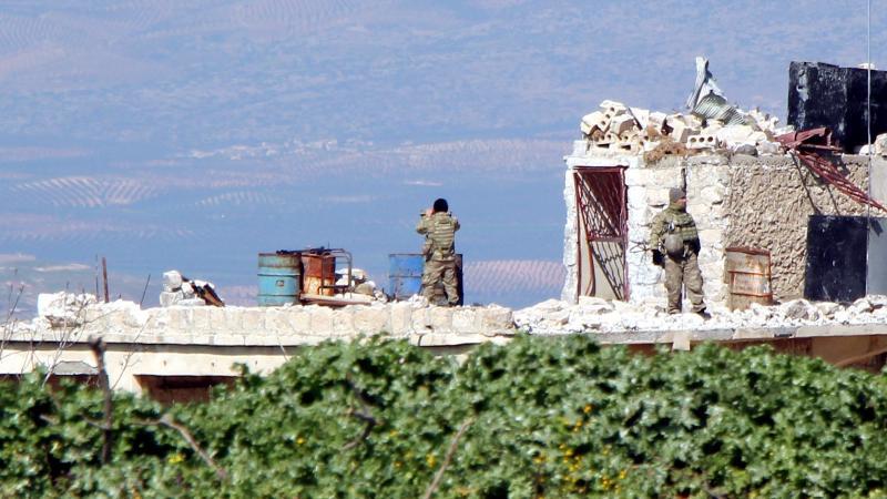 Mehmetçik Afrin merkez için emir bekliyor