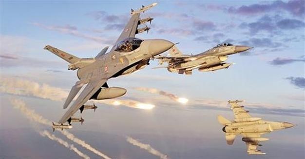 Flaş haber! Hava Kuvvetleri desteğinde El Bab operasyonu başladı...