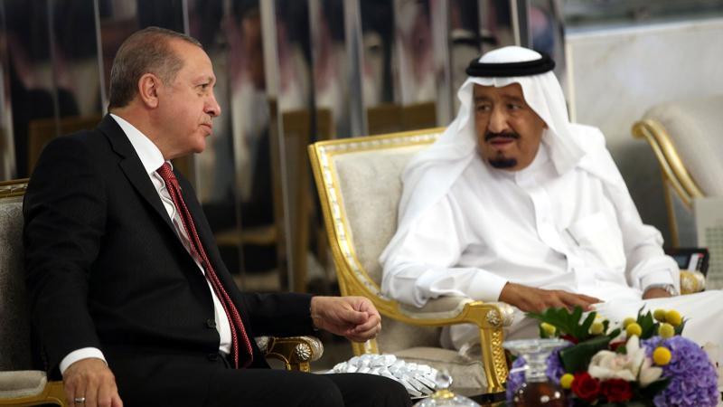 Cumhurbaşkanı Erdoğan ile Kral Selman görüştü
