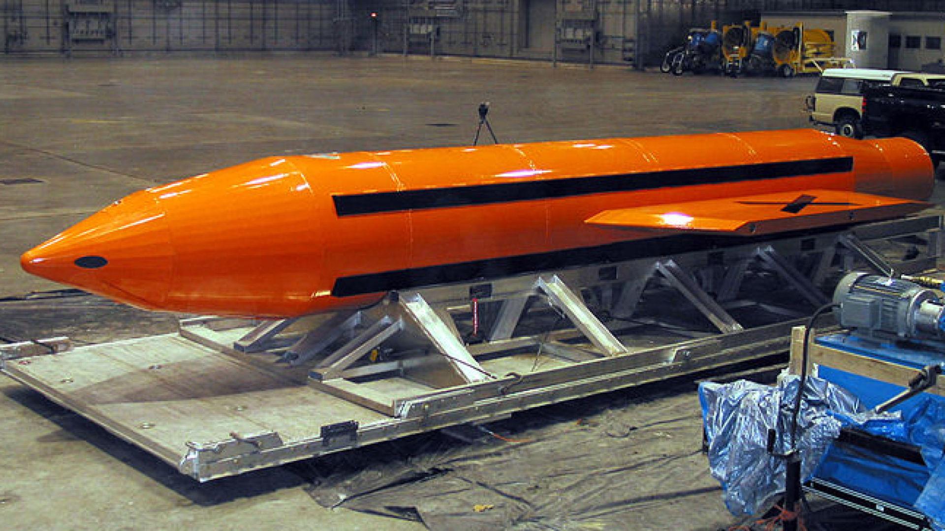 ABD, 'tüm bombaların anası' lakaplı silahını kullandı