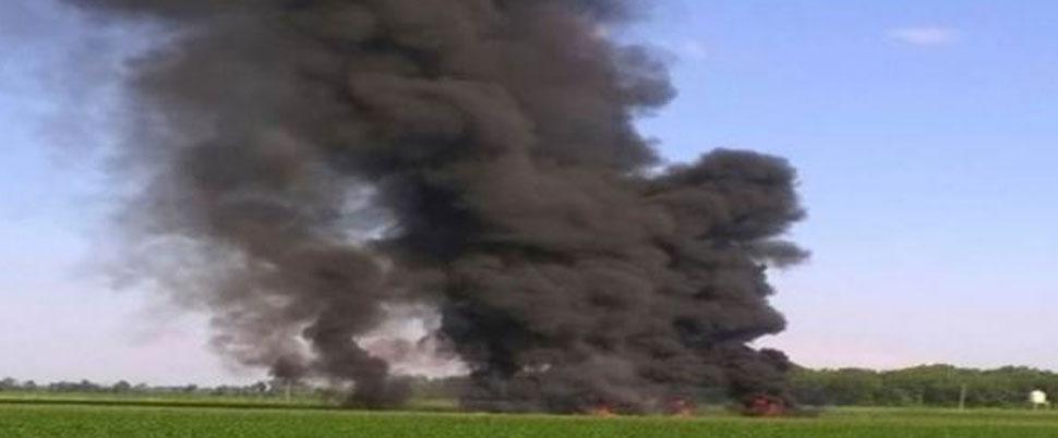 ABD'de askeri uçak düştü!.. Çok sayıda ölü var!