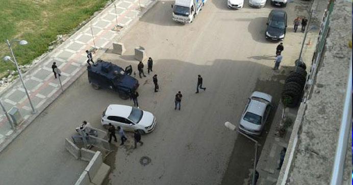 Emniyet müdürlüğüne bombalı saldırı girişimi