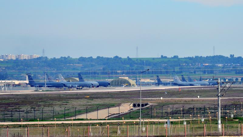 İncirlik'te ABD hareketliliği: 11 uçak apronda!