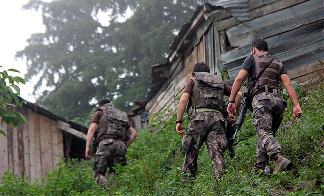 Giresun'da çıkan çatışmada Eren Bülbül'ü şehit eden teröristler öldürüldü