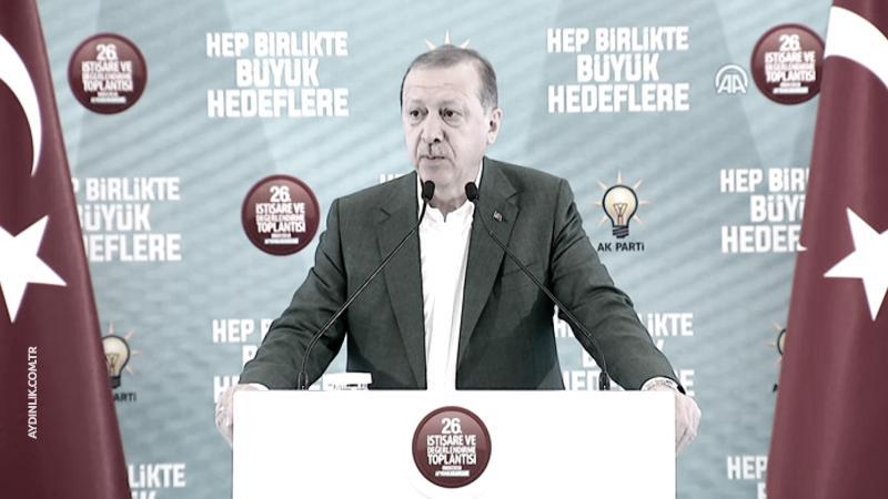Erdoğan: Onlar kaçacak biz kovalayacağız!