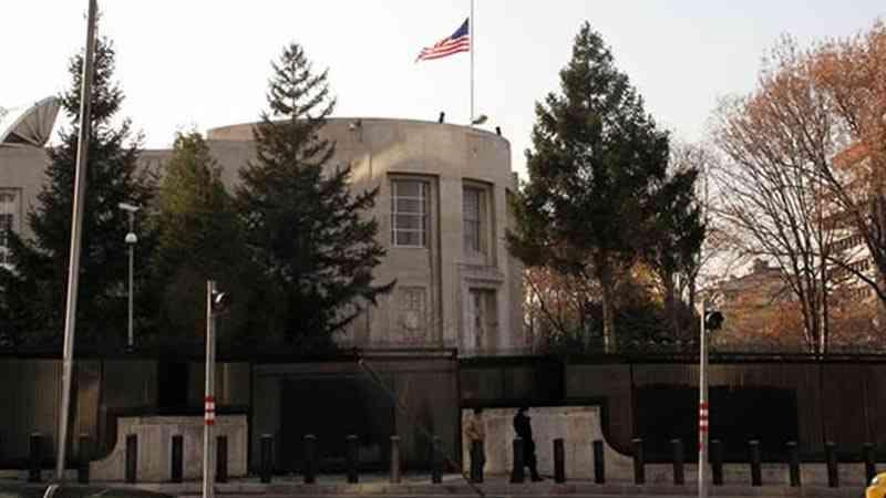 ABD Büyükelçiliği'nin bulunduğu caddenin adı resmen Zeytin Dalı