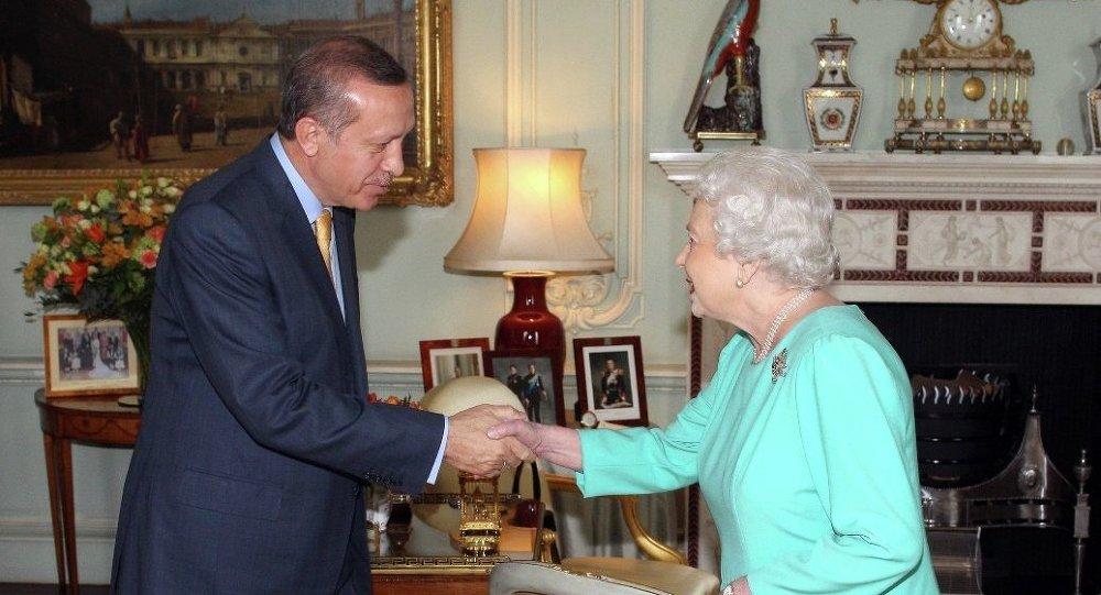 Erdoğan, Kraliçe Elizabeth ve May ile görüşecek