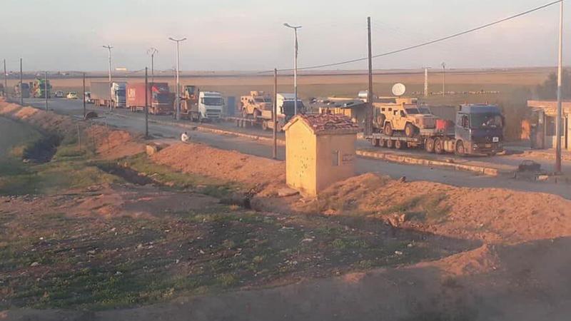 ABD'den PKK/YPG'ye büyük sevkıyat!