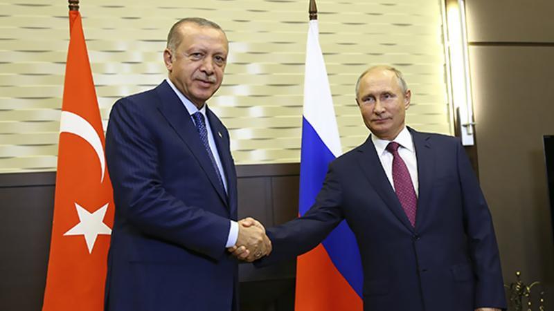 Erdoğan Putin görüşmesinde mutabakat: Silahlardan arındırılmış bölge