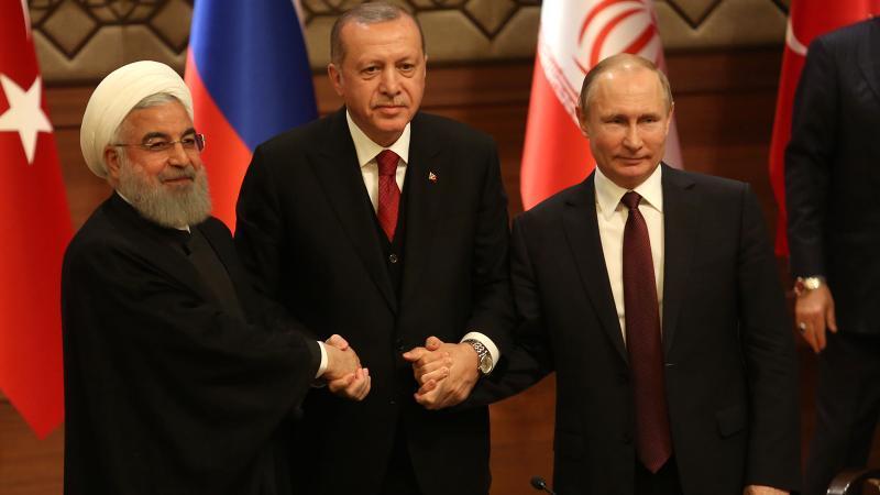 Dünyanın gözünü çevirdiği Soçi'de 3 liderden ortak açıklama
