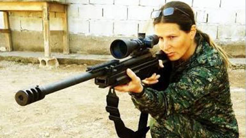 'Manken terörist' ifşa etti: Fransız askerler, YPG'lileri eğitiyor