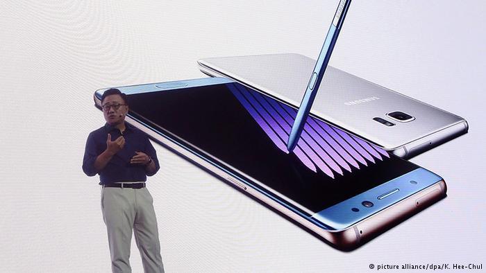 Samsung Galaxy Note 7'nin satışını durdurdu