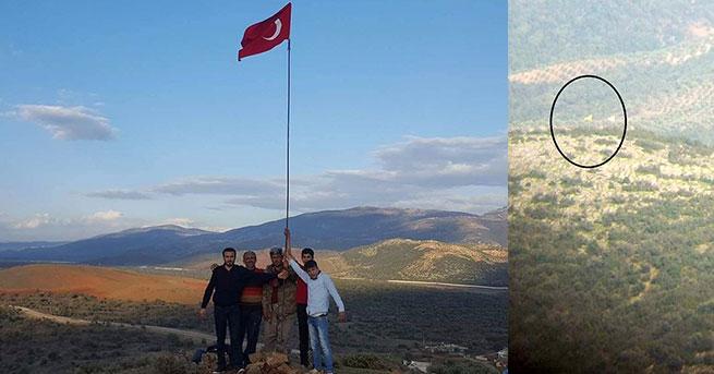 Sınırda 'sözde' PKK bayrağı krizi