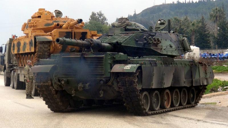 TSK konvoyu İdlib yolunda