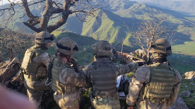 PKK'nın 'girilemez' dediği bölge hallaç pamuğu gibi atılıyor!
