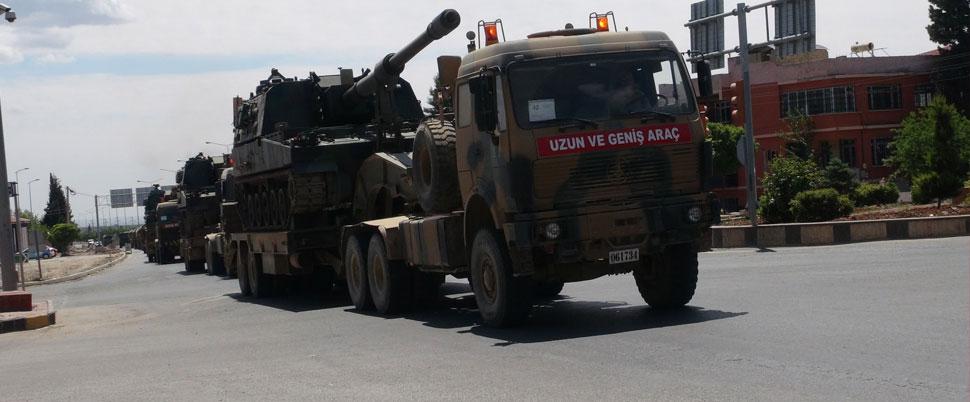 Kilis'in Suriye sınırına sevk ediliyorlar!