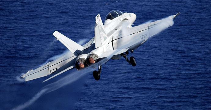 ABD, Suriye Rejimi'ne ait savaş uçağını düşürdü!