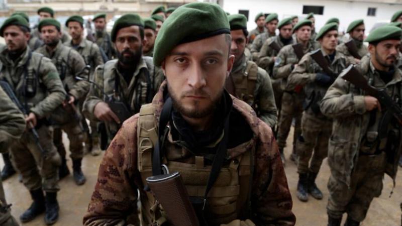 ABD terk edince Suriye ordusuna katıldılar!