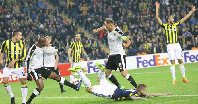Fenerbahçe, UEFA Avrupa Ligi'ne veda etti
