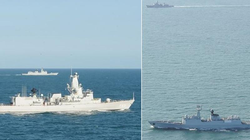 Baltık'ta Rus-Çin ortak tatbikatı başladı