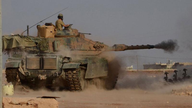 TSK, Bersaya'daki terör örgütü PYD hedeflerini bombaladı!