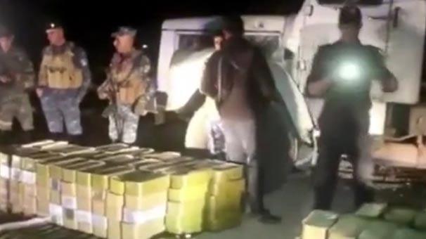 Irak polisinden PKK'ya Afrin darbesi: Silahlara el koydular!