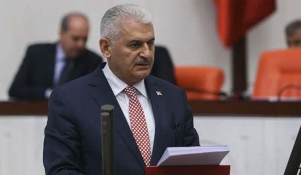 Başbakan Yıldırım: Suriye'ye saldırı olumlu bir adım!