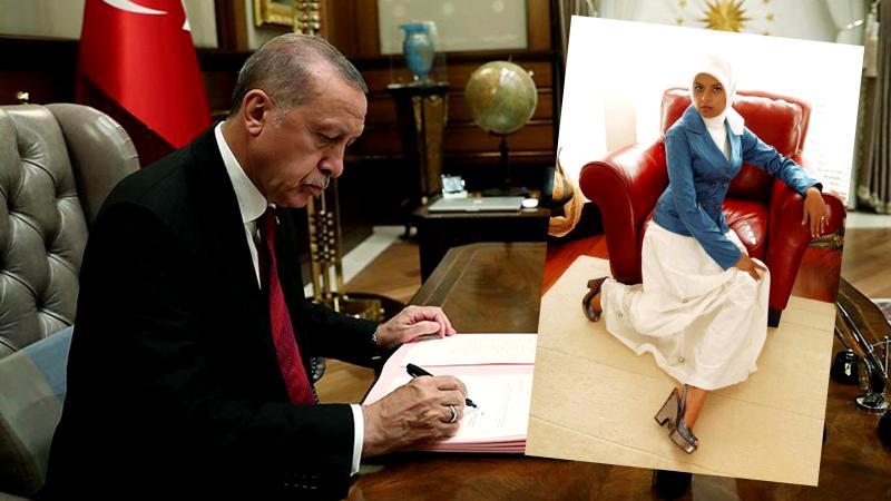 Merve Kavakçı'nın kızı Cumhurbaşkanı danışmanı oldu!