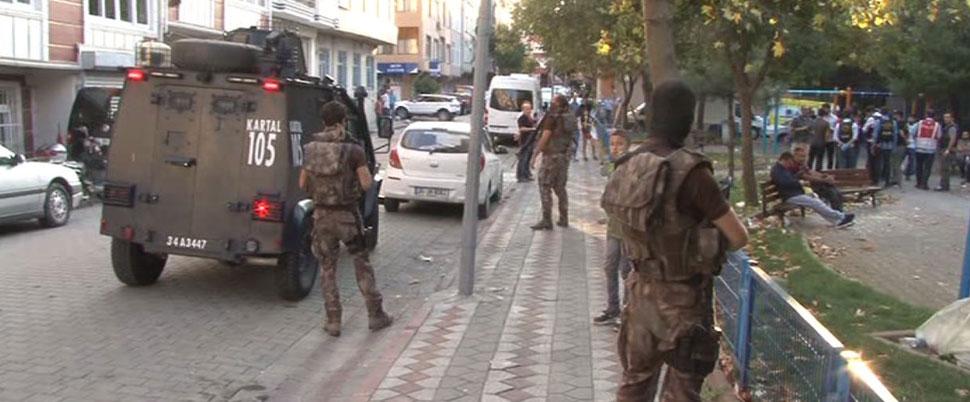 İstanbul'da özel harekat destekli denetim