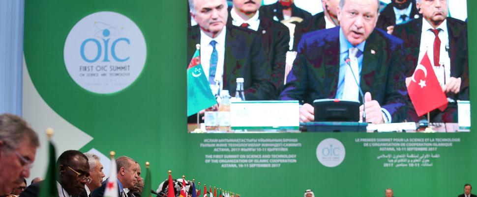 Erdoğan'dan İslam ülkelerine internet mesajı