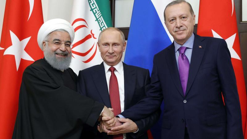 Türkiye, Rusya ve İran Soçi'de bir araya geliyor