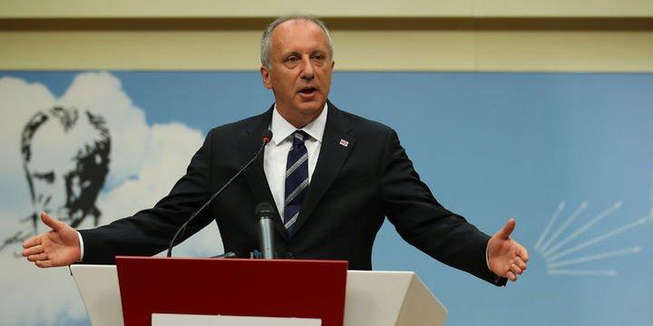 İnce: CHP karışmadı, teklifimi basınla paylaştım