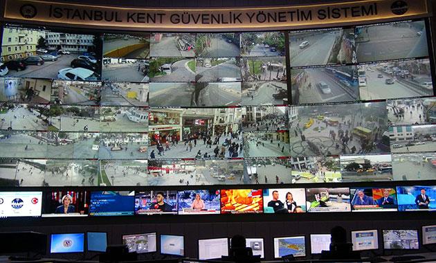 İstanbul'un gözleri; Megakent 7 bin polis kamerası ile mercek altında