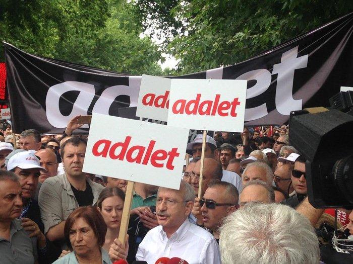 CHP heyeti Ankara'dan İstanbul'a yürüyor