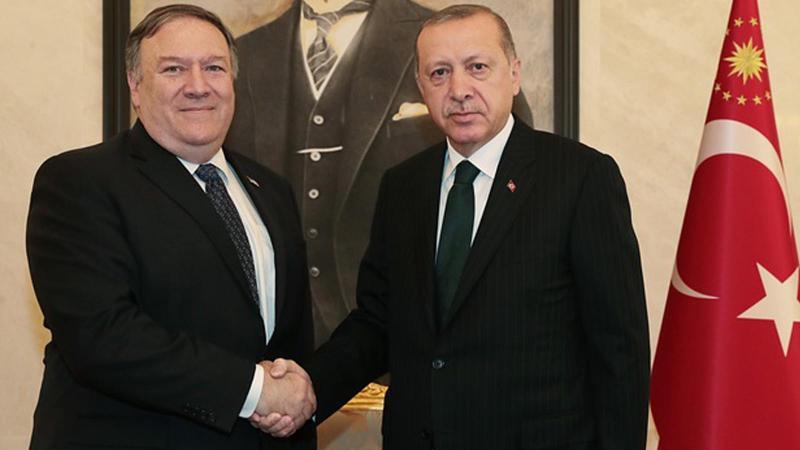 Erdoğan, Pompeo görüşmesi sona erdi
